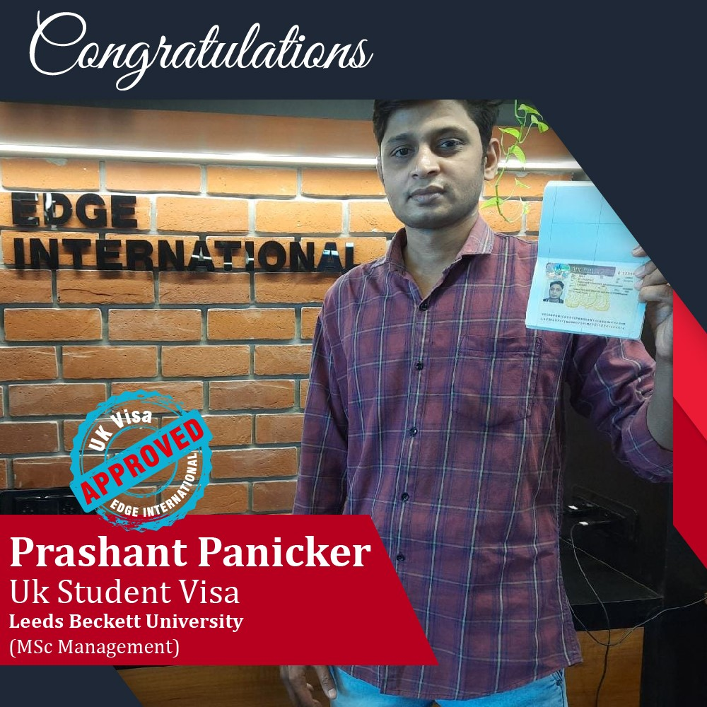Prashant UK Student Visa Success