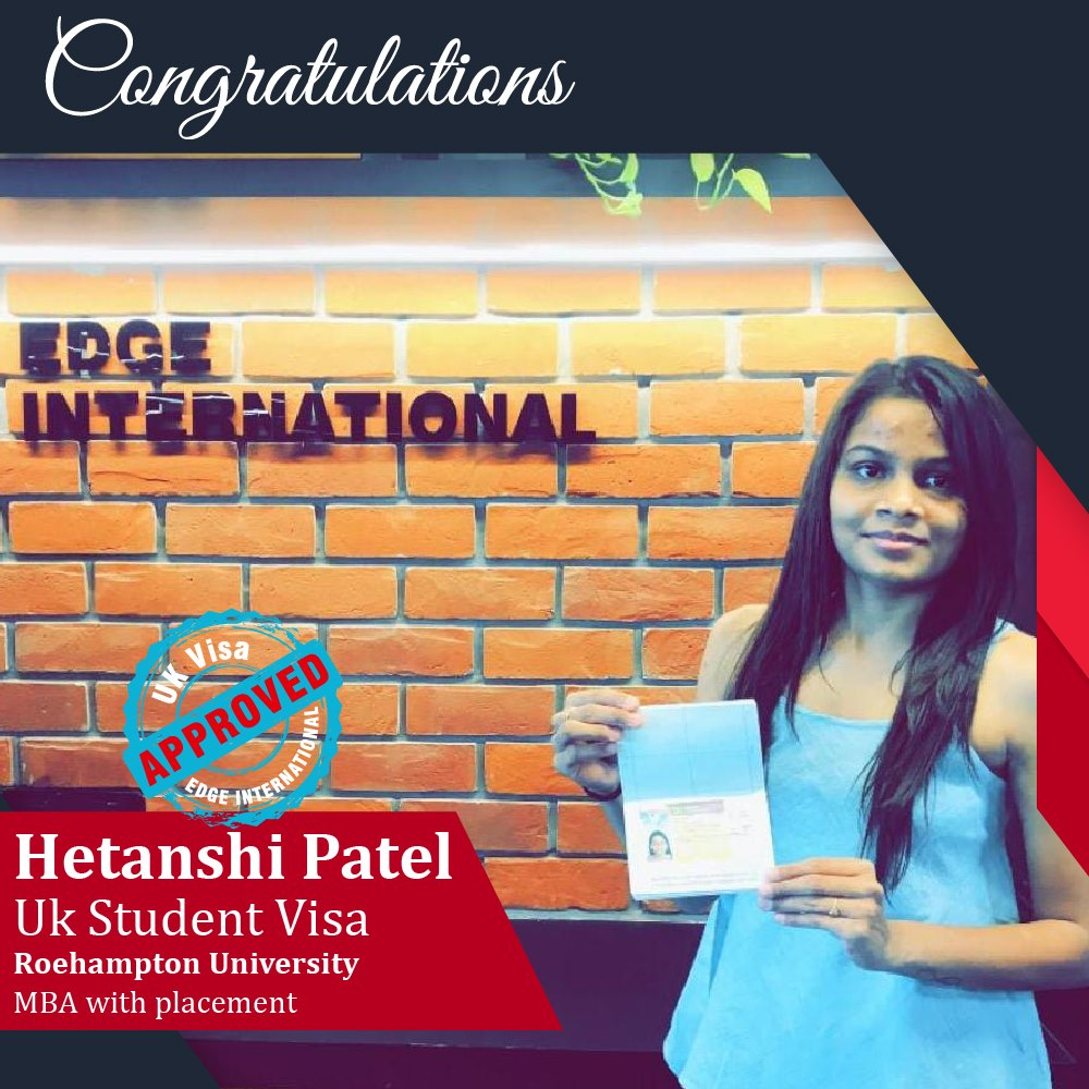 Hetanshi UK Student Visa Success